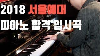 [뮤피아 히든뮤지션] 서울예대 피아노 입시곡  2018 합격생 박병일