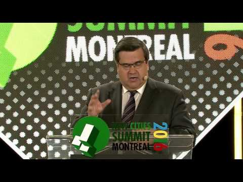 New Cities Summit 2016 - Keynote by Denis Coderre, Mayor of Montréal