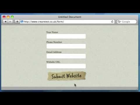 HTML Image Submit Buttons (with Rollover) Tutorial