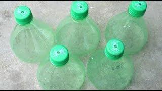 Ý tưởng đổ mồ hôi hột làm Khu Vườn Chai Nhựa bỏ đi cho các bạn mê làm vườn |  Plastic Bottle Gardens