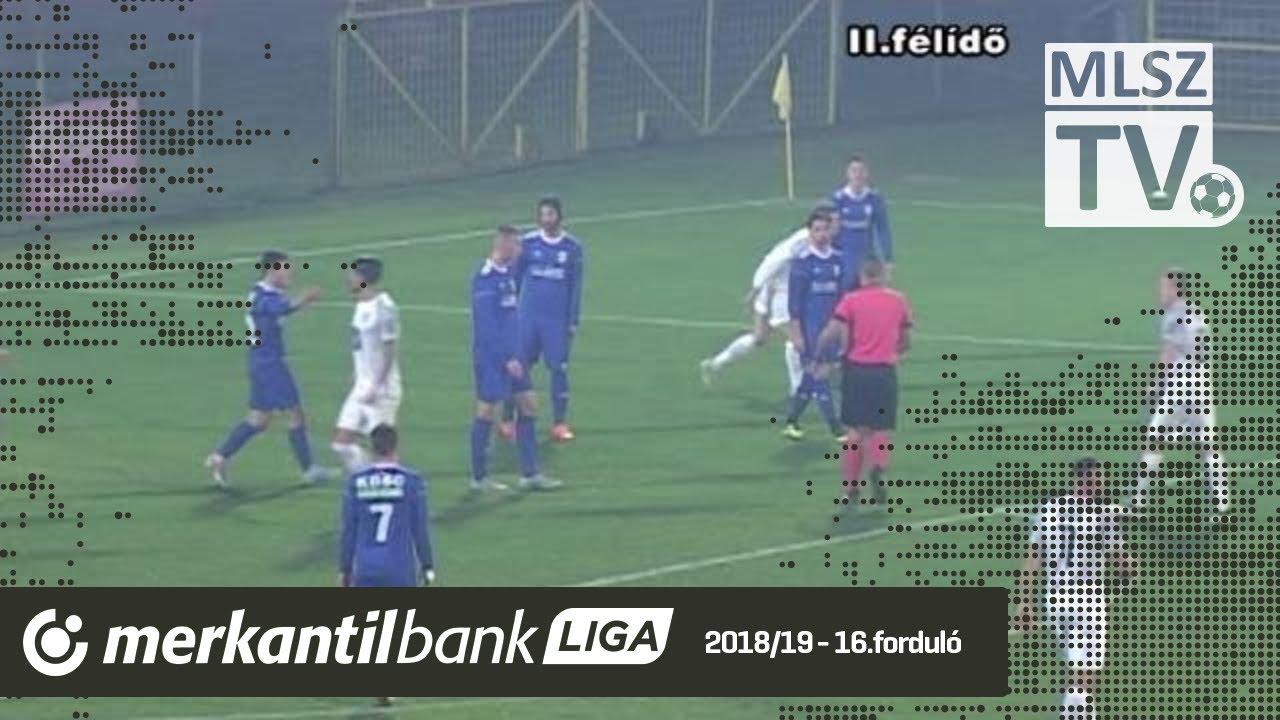 BFC Siófok – Kazincbarcika | 1-5 (1-3) | Merkantil Bank Liga NB II.| 16. forduló |