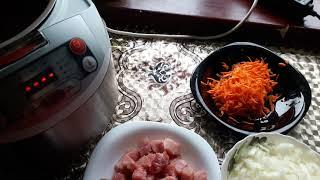Гречневая каша с мясом в мультиварке Очень вкусно Без хлопот мультиварка гречкавмультиварке