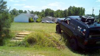 2wd 4runner going where 4wd 4runners can't go using cutting brakes