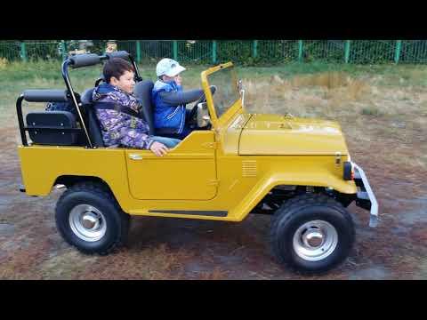 # детский автомобиль на бензине # Детский автомобиль своими руками #junior car #mini jeep