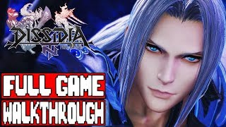 DISSIDIA FINAL FANTASY NT Gameplay Walkthrough Part 1 FULL GAME - No Commentary