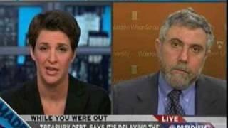 Rachel Maddow Gets a Dose of Reality from Paul Krugman on the Economy