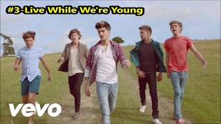 Top 5 One Direction Songs (1D)