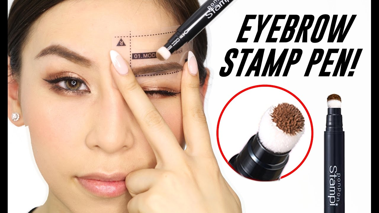 Eyebrow Stamp Pen