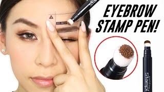 Eyebrow Stamp Pen - Instant Eyebrows! | TINA TRIES IT