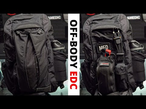 Off-Body Everyday Carry ⎮Backpack EDC⎮