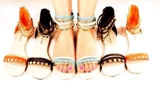 Shoe Haul! Shoe Collection Sandals Flats - Stop Motion Shoes