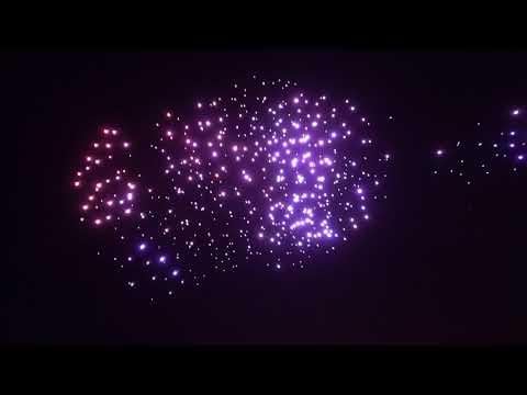2018 Burning Man Drone Show