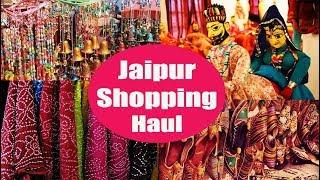 My Shopping in Jaipur | Mini Haul | Jaipur Shopping | Bapu Bazzar | SahiJeeth