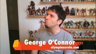 comics are great 76 bringing the gods to life with george o connor