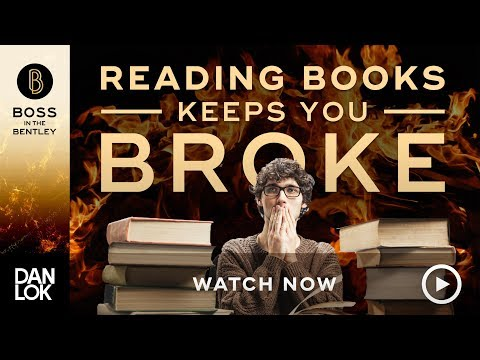 Why Reading Books Keeps You Broke
