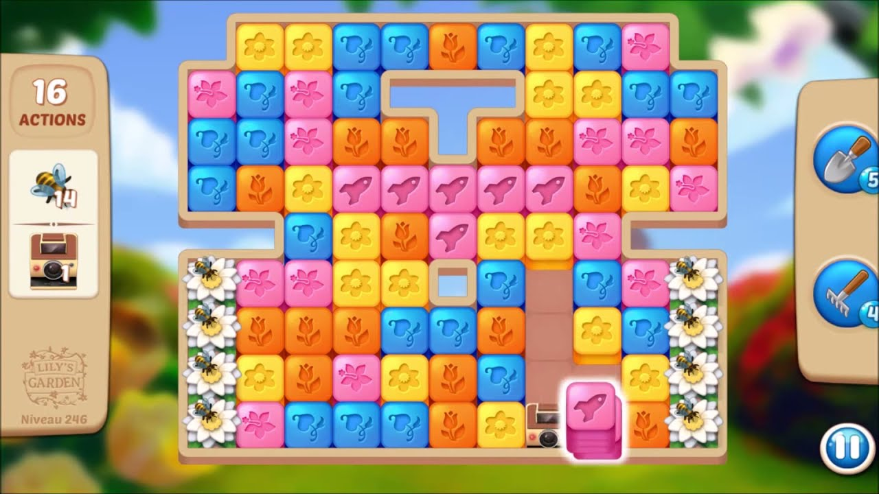 Lily S Garden Level 167 No Boosters Lily Garden Lily Garden Levels