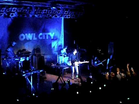 FIREFLIES-Owl City; Live Charleston,SC - Music Farm