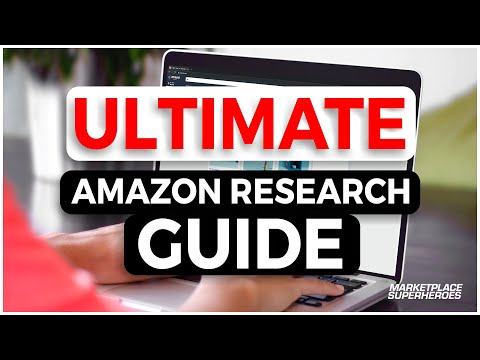 [TUTORIAL] The ULTIMATE Amazon Product Research Guide | Step By Step thumbnail
