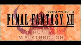 FINAL FANTASY XII Hunt Walkthrough Gilgamesh (Battle 2) Part 41 (2 of 4) (PS2)