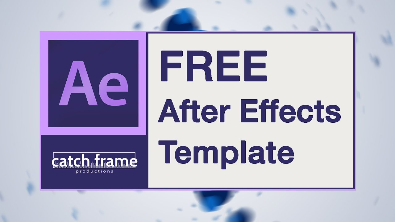 Free after effects template particle spiral logo youtube for Free after effects logo templates