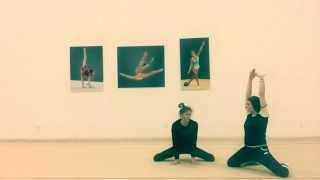 #3 Разминка в художественной гимнастике