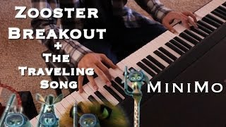 Madagascar Soundtrack (Zoosters Breakout and The Traveling Song) - MiniMo [Multi-Cam] Piano Cover