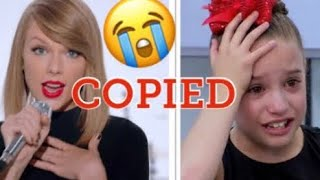 DID TAYLOR SWIFT COPY MACKENZIE ZIEGLER?!