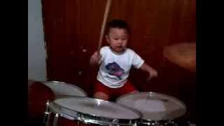 Download Timothy Brady Christian first drum video :) (1st Part)
