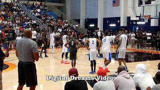 The Game Fights His Own Teammate At Drew League Basketball Game! in HD
