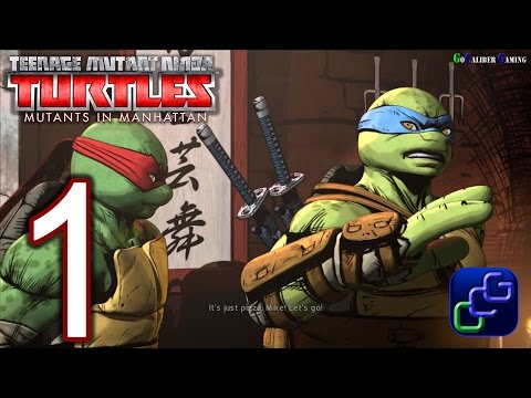 Teenage Mutant Ninja Turtles: Mutants In Manhattan Walkthrou