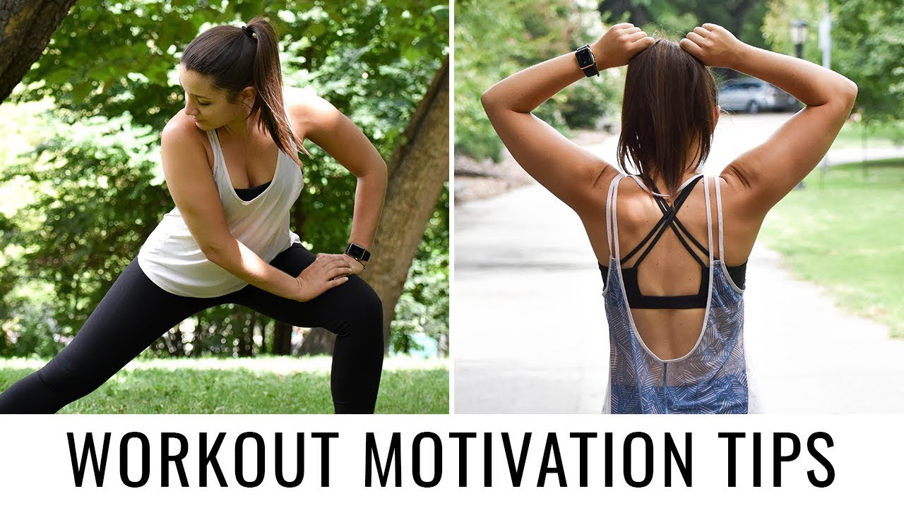 How to Stay Motivated to Workout   5 EASY TIPS