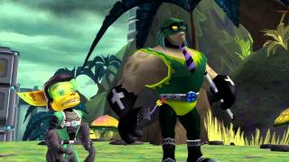 Ratchet & Clank: Going Commando HD Walkthrough Part 11[Giant Clank! Squid-face Brute?]