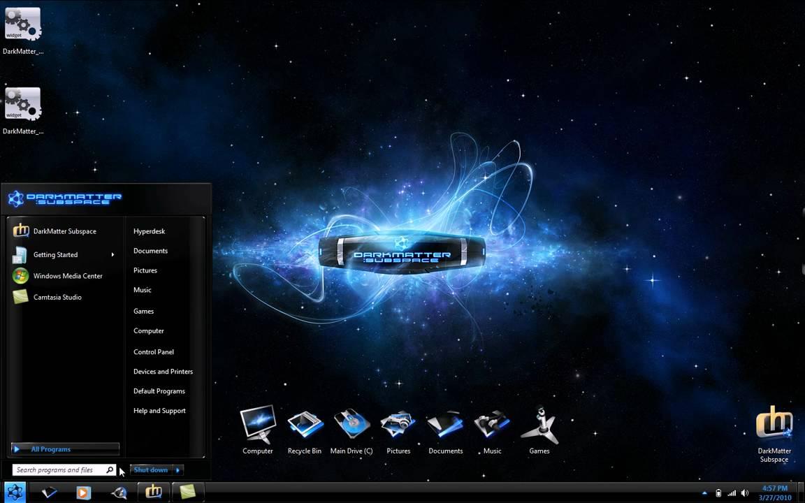 Hyperdesk Windows 7 Desktop Theme Youtube