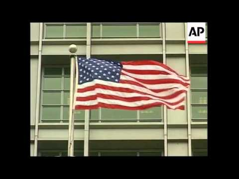 RUSSIA: MOSCOW: NEW US EMBASSY OPENS