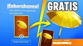 Comment GET THE GOLDEN SOMBRILLA à FORTNITE