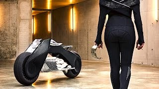 BMW Self Driving Motorbike REVIEW BMW Vision 100 BMW Self Balancing Motorcycle Review CARJAM