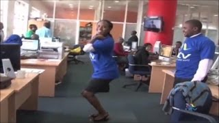 Happy Dance NTV Edition  ( Behind The Scenes )