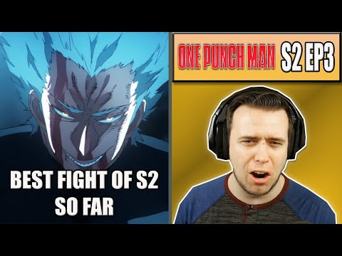 GAROU IS NOT A JOKE - One Punch Man Season 2 Episode 3 - Rich Reaction