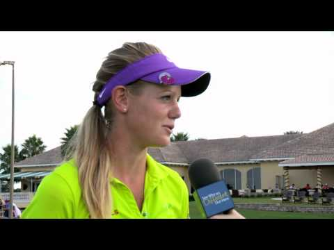 Amy Anderson's Third Round Interview at Stage III of the LPGA Final Qualifying Tournament