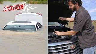 Cuidado: Que no te estafen con un auto inundado