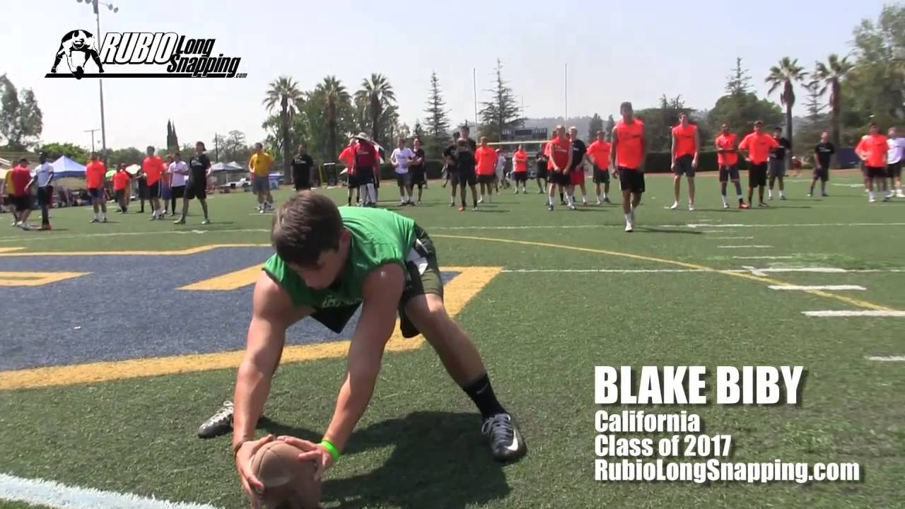 blake biby - long snapper - youtube