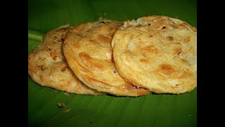 Multi layered Indian flat bread   | Cooking Skills in India | How to Cook Easy Parotta or Parata