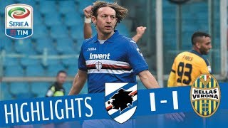 Sampdoria - Verona 2-0 - Highlights - Giornata 24 - Serie A TIM 2017/18 streaming