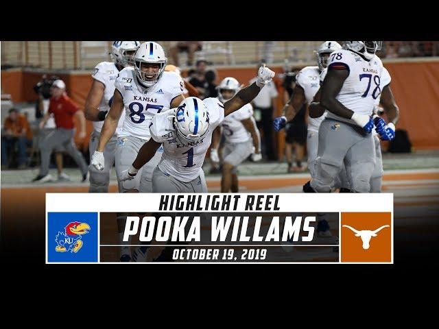 Pooka Williams Highlights: Kansas vs. No. 15 Texas (2019) | Stadium