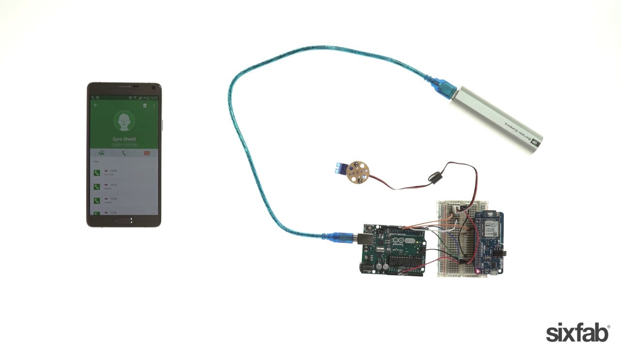 How to Control a Door Lock By Calling from your Cell Phone   GSM/GPRS  Shield Sample Project Videos