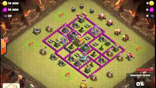 Clash of Clans -- Hero and the Goat -- JTJ's war vs WisconSinners (06/22/14)