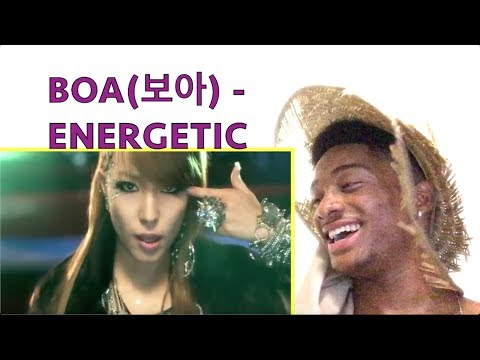 BoA보아 Energetic Music ALAZ EPI 216 REACTI