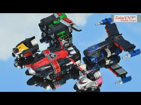[TMT][091] Review DX DekaWing Robo! Tokusou Sentai Dekaranger! S.W.A.T. Megazord!