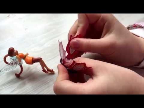 Видео: Kinder surprise . Феи сказочного леса. Фея Фауна