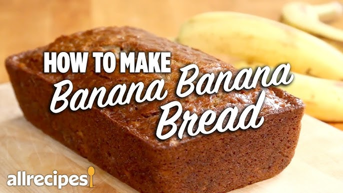 How To Make Banana Banana Bread Allrecipes Com Youtube
